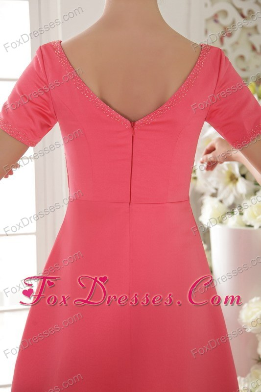 zipper up mother of the bride dresses for wedding party