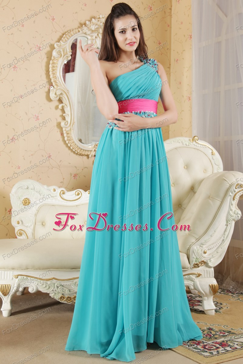 Prom Women MACloth Lace Teal Dress Chiffon Party Formal