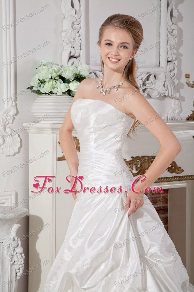 good quality a line bridal dresses