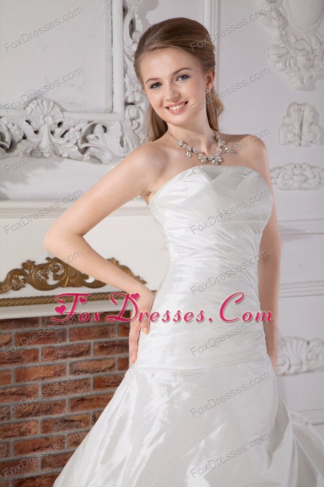 soft and feminine bridal dress under 250