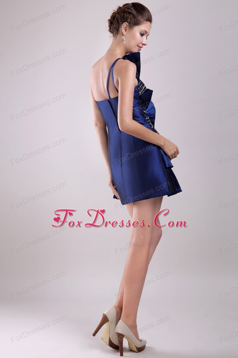 Special strapless prom cocktail dresses mini length beading