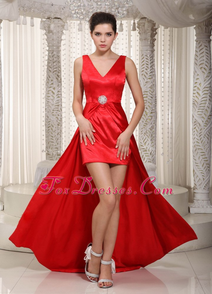 Blood Red Prom Dresses