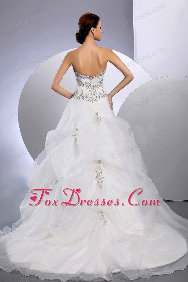 amazing white bridal gowns cheap for 50th anniversary