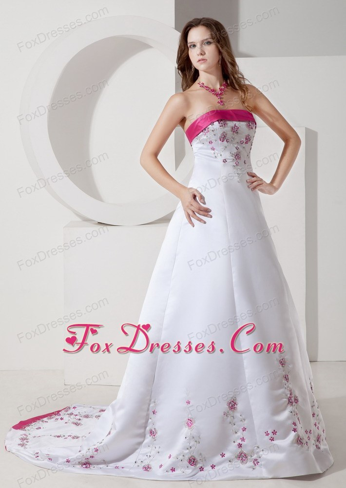 modern exclusive wedding gown