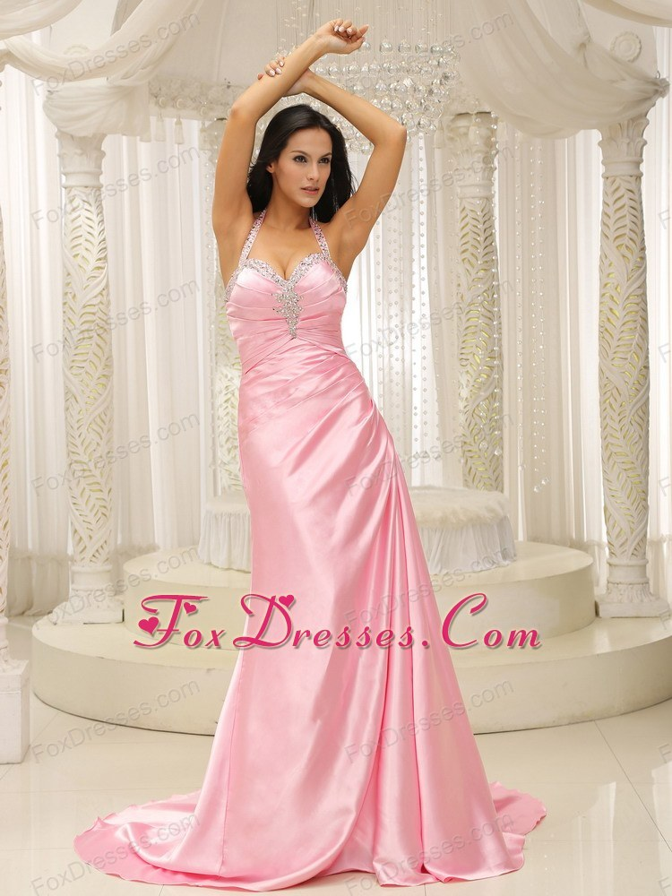 Baby Pink Prom Dresses | Light Pink Prom Dress | Baby Pink Evening Gowns