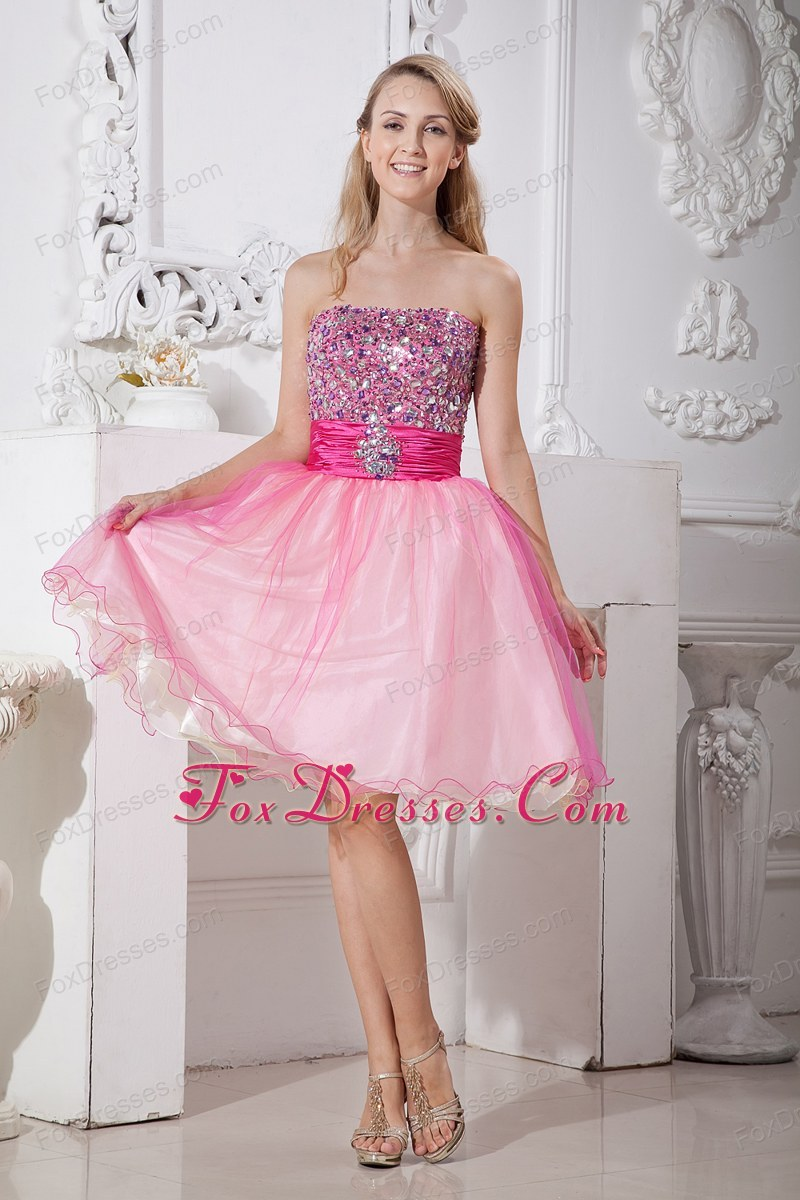 Juniors Pink Dresses