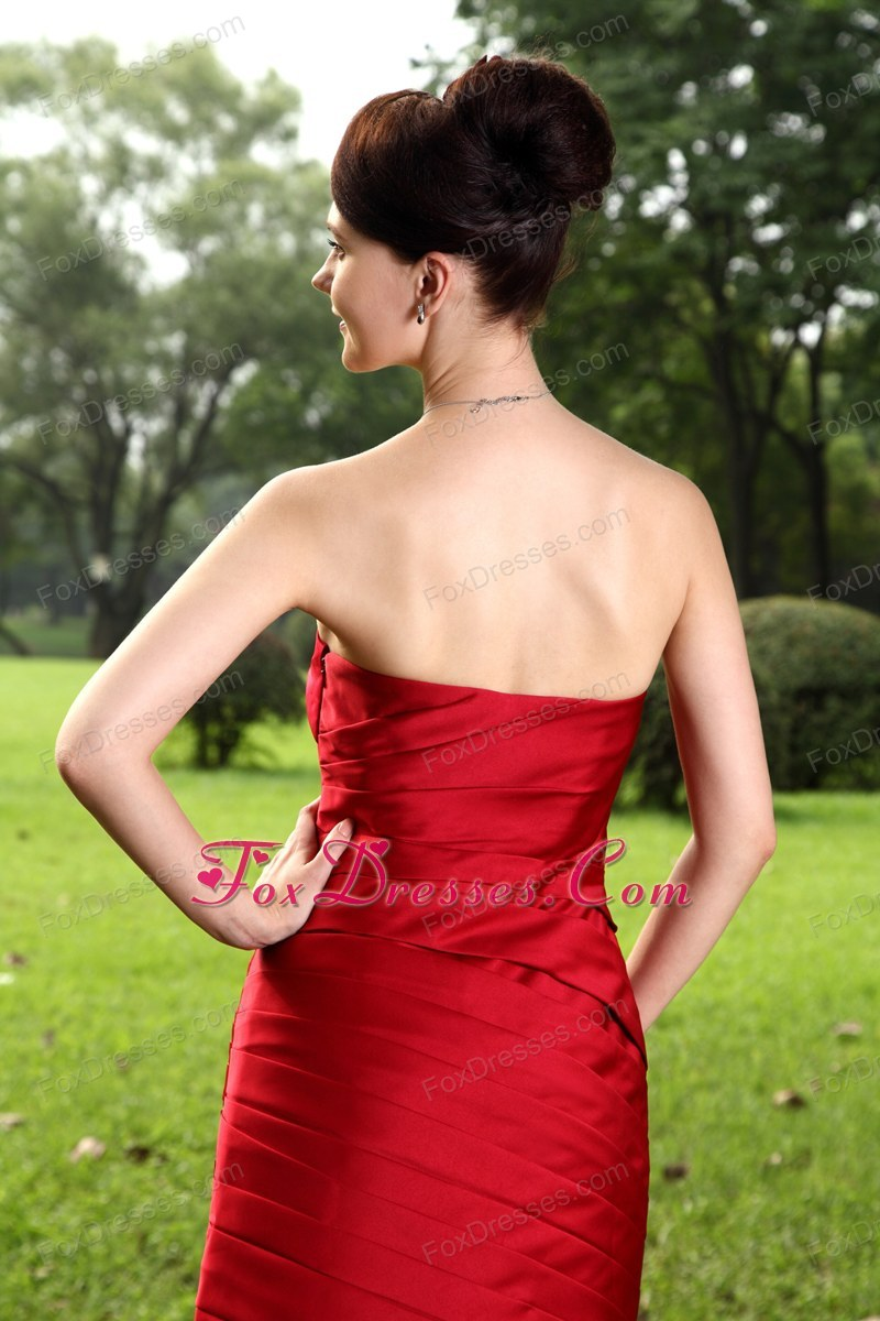customize red holiday homecoming dress