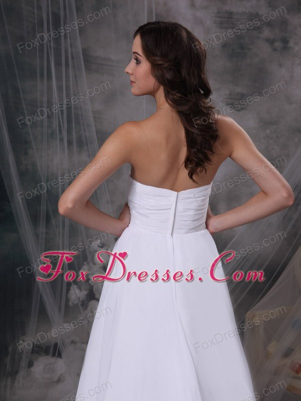 wonderful wedding bridal dress with court train