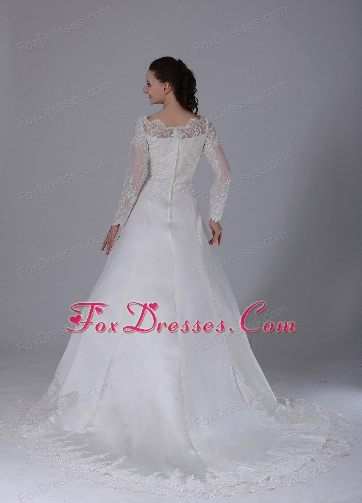 bargain 2014 2016 wedding dress with court train