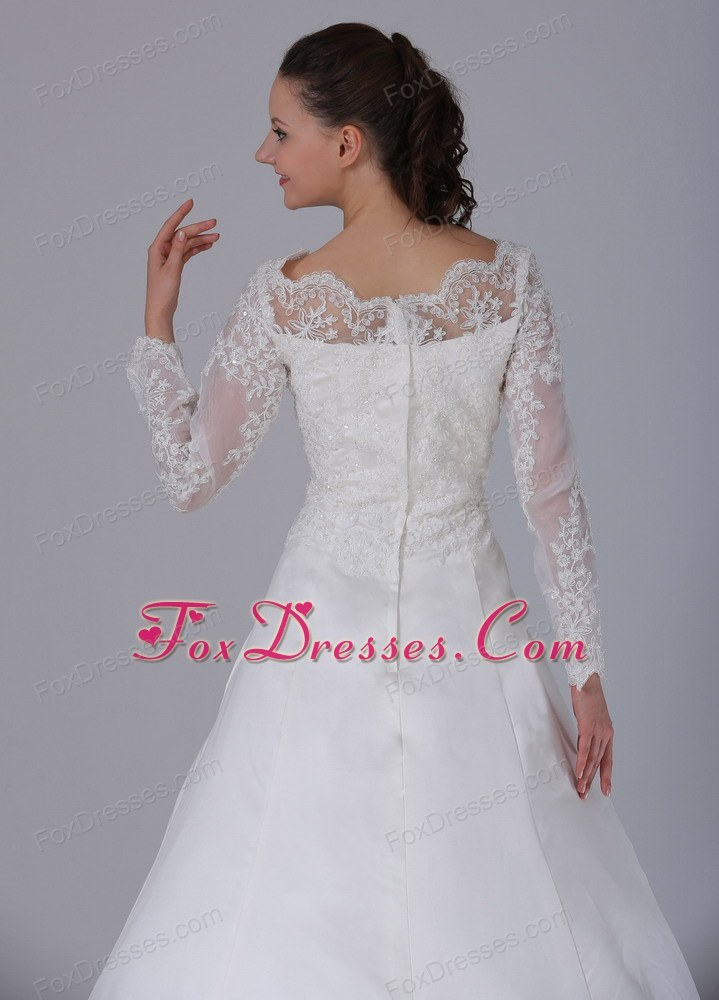 2014 gorgeous wedding bridal dress with court train