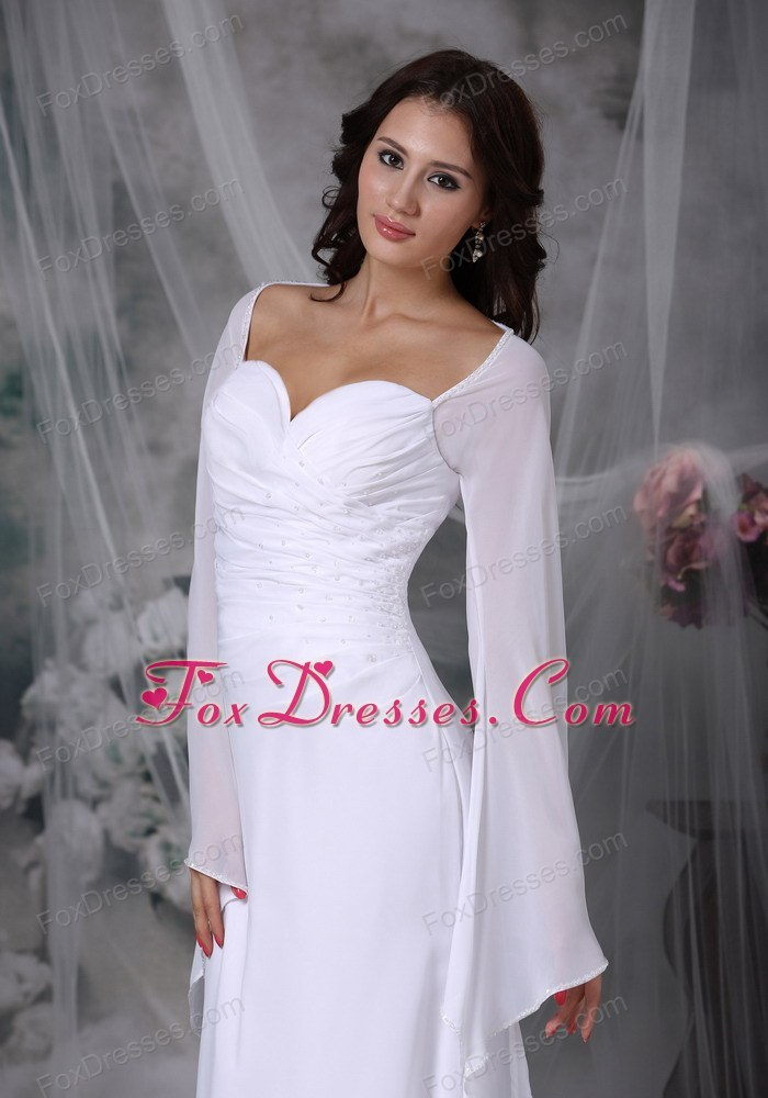 soft and feminine wedding dress under 200