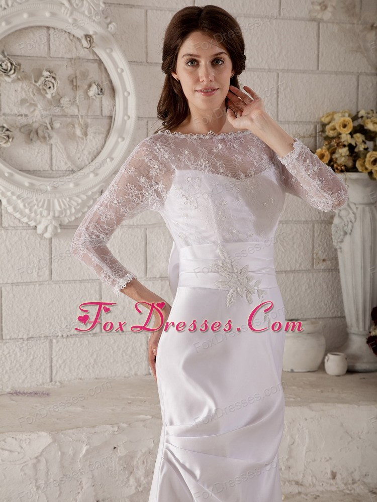 swank wedding dress in winter for you