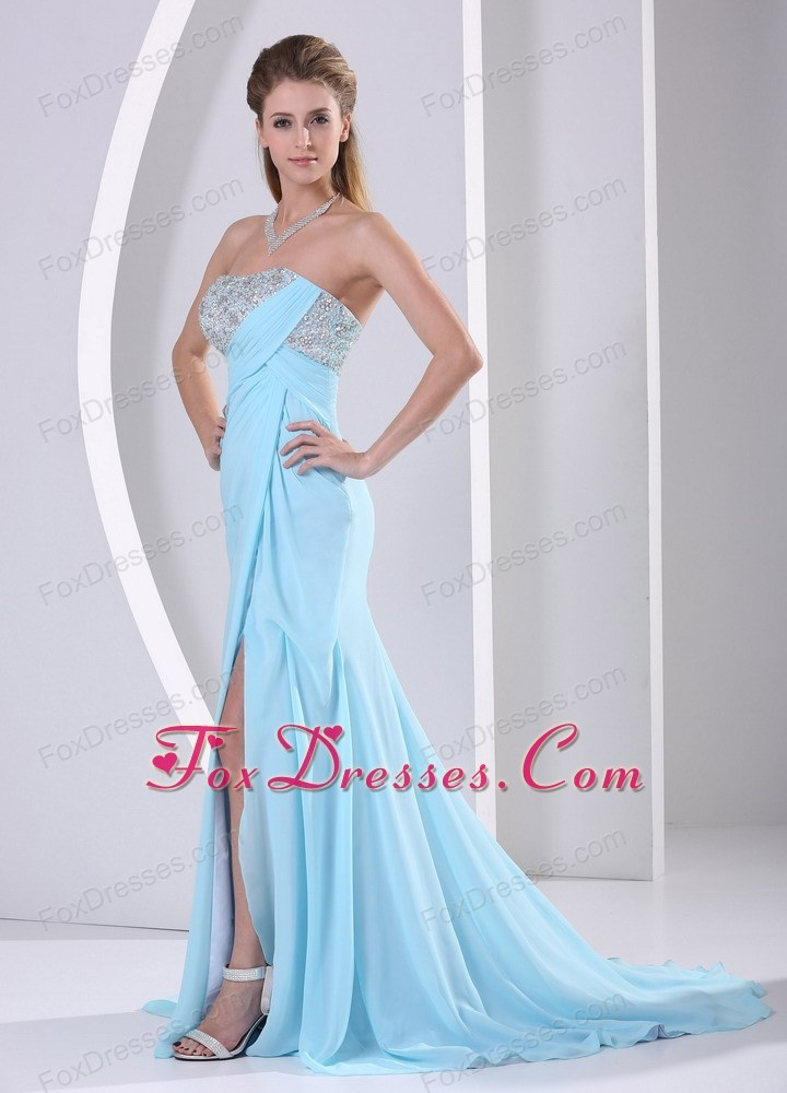2014 beautiful prom pageant dress for white tie party