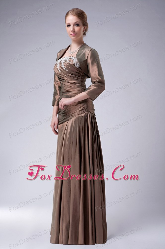 2011 2012 romantic mother of the bride dress with zipper up back