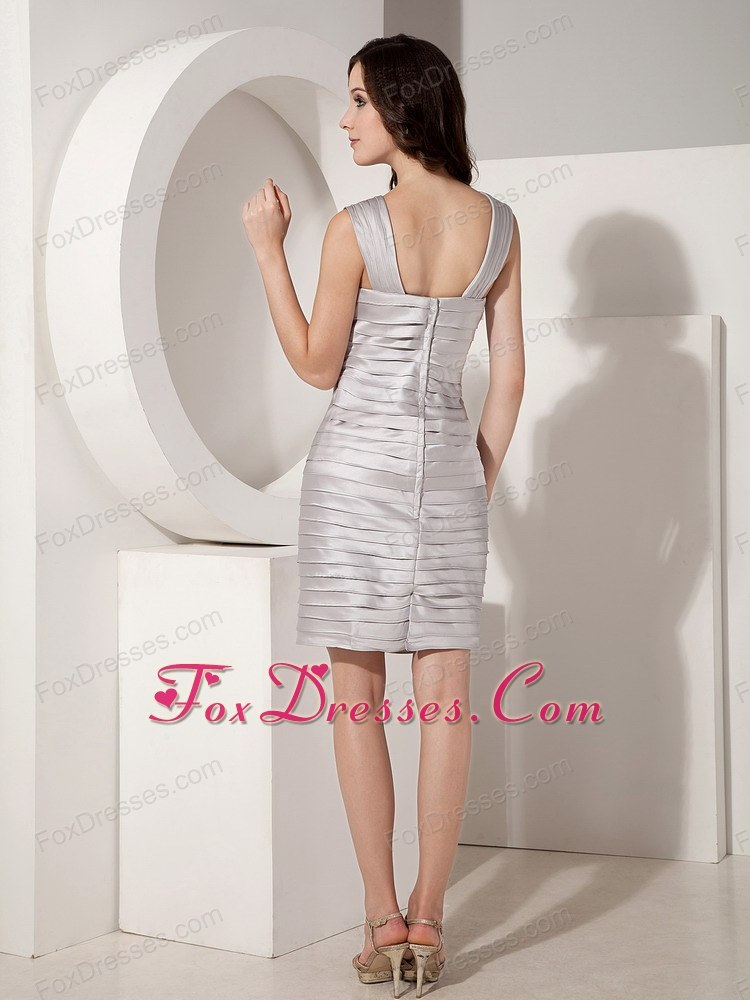 zipper back mother of the bride dress