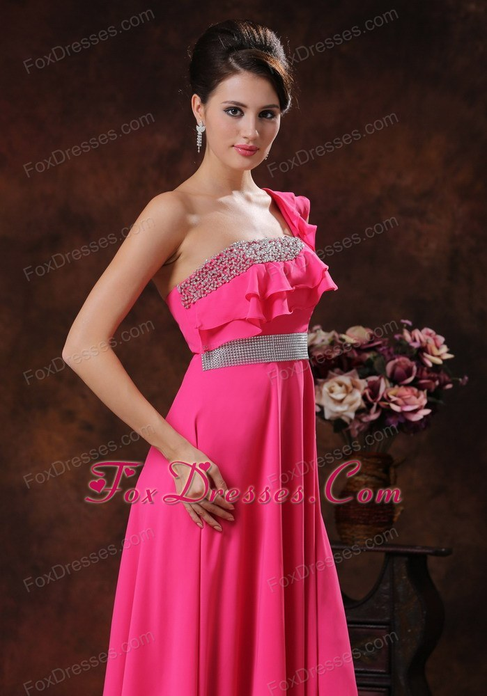 2014 chiffon elegant prom celebrity dress