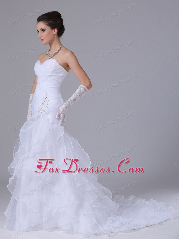 in fashion 2013 2014 winter outdoor wedding gowns
