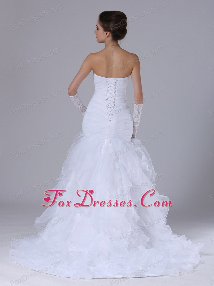 wedding dress fitted waist brand new 2013