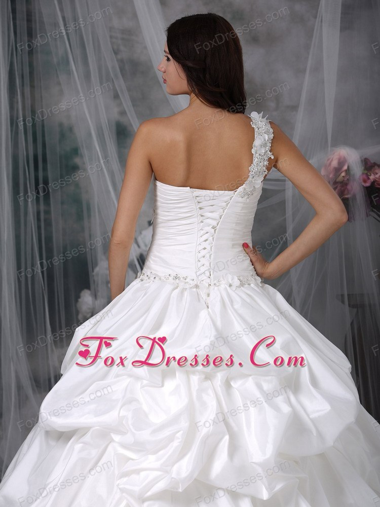 ruched bridal dress for weddings in 2013 summer