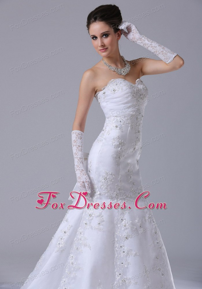desirable and romantic valentines day bridal dress for wedding