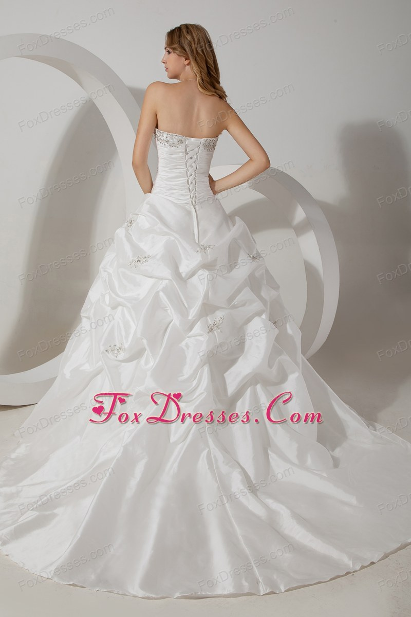 summer lace up bridal dress for weddings