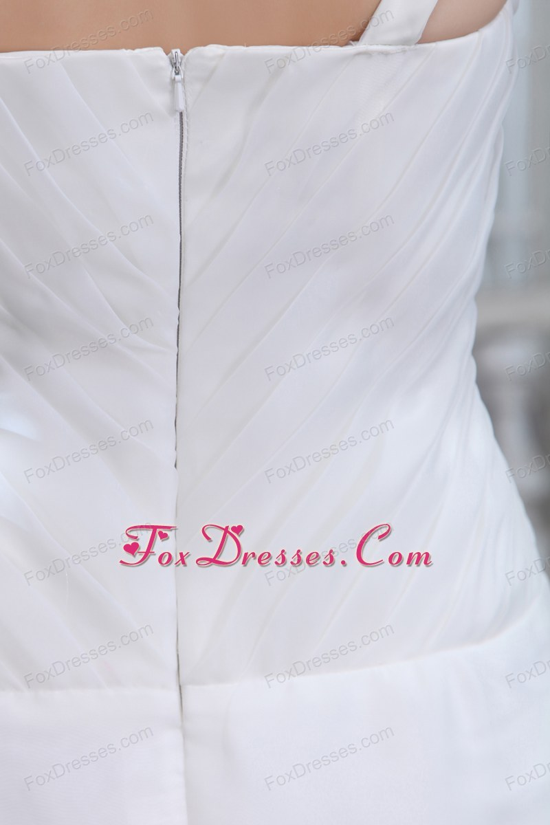 summer zipper up bridal dress for weddings