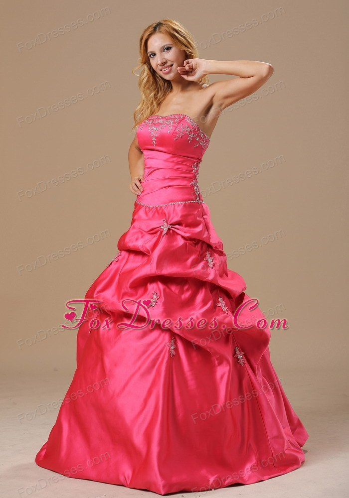 cute coral red in spring for 2013 prom dress pickups